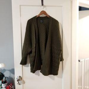 Zara Green Cardigan size M